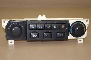 98 00 Honda Accord Manual Heat Heater Climate Temp AC A C Control Vents 99