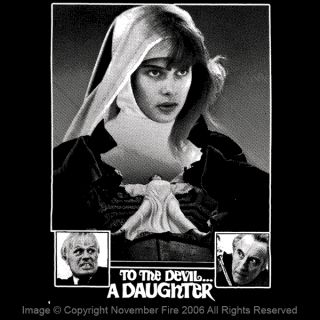 To The Devil A Daughter Shirt Nastassja Kinski Nun Evil