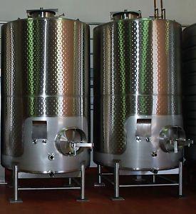 Stainless Steel Wine Tank Fermenter 3000 Gallon