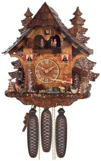 Musical Cuckoo Clock Wall Clocks Black Forest Clocks 8 Day Clock Coo Coo Clock