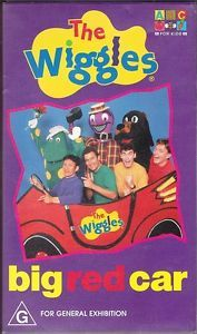 The Wiggles Big Red Car VHS Video Cert G Australian Release 15 Songs Childrens