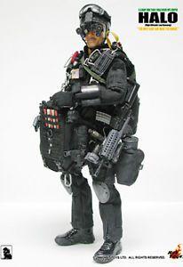 1 6 Hot Toys US Navy Seal Team 2 Halo Night Ops Jumper