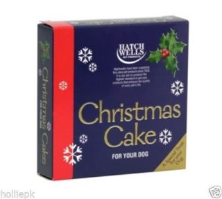 Dog Treat Christmas Cake Xmas Gift Idea for All Breeds