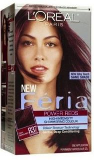 Loreal Feria R37 BLOWOUT Burgundy Permanent Hair Color