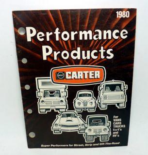 Carter BBD Carburetor Identification on PopScreen