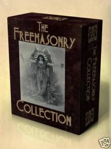 Masonic Library 450 Books on DVD Clipart Freemasonry