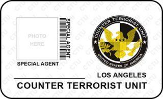 Counter Terrorist Unit Logo Special Agent ID CIA FBI