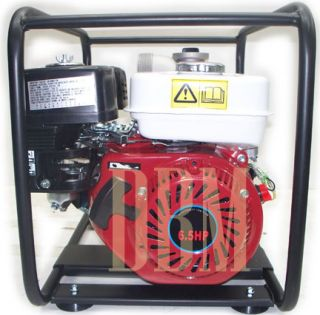 "3"" Water Pump Gasoline Engine Simi Trash 4 Stroke 6 5 HP"