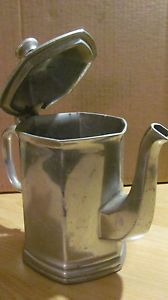 Vintage Wilton Columbia PA Armetale Mulberry Hill Coffee Tea Pot Pitcher Metal