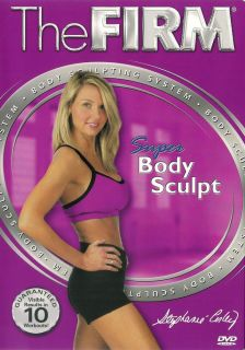 The Firm Super Body Sculpt with Stephanie Corley DVD 767712811354