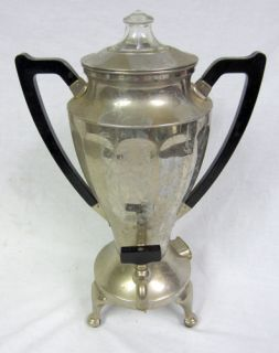 Vintage Westinghouse Electric Vtg Coffee Maker Percolator June 11 1918 No Cord