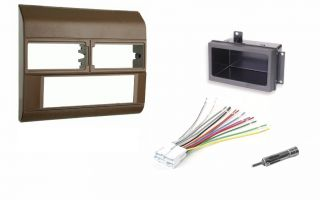 Chevy Pickup Truck 88 94 Beige Radio Stereo Dash Kit w Wire Harness Pocket Ant