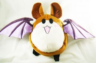 Rosario Vampire Bat Plush Bag Kids Backpack Genuine Licensed Product