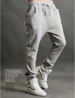 Hot Men's Casual Rop Sports Pants Harem Trousers Pants Training Baggy Pants