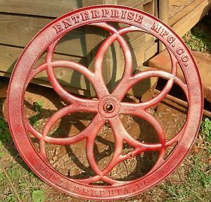 Antique Enterprise No 16 Right Wheel Coffee Grinder Mill