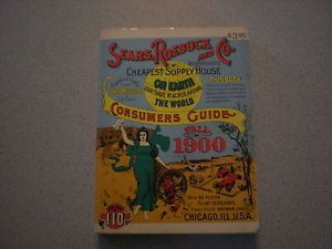 "1970 "" Roebuck and Co "" Fall 1900 Consumer Guide Catalogue No 110"