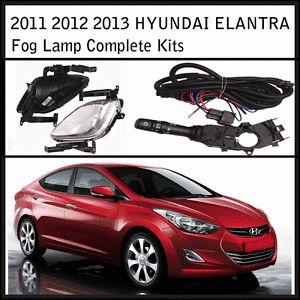 2011 2012 2013 Hyundai Elantra Avante MD GLS Fog Lights Complete Kit