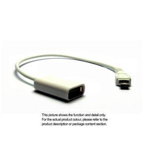 Android Micro USB to USB Connector Kit Adaptor Cable for Samsung Device M136A