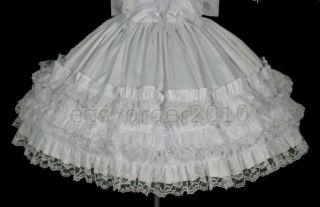 Adult Baby Sissy Dress Costume Custom Made 12