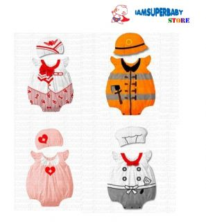 Baby Toddler Boy Girl Cartoon Character Fancy Dress Costume 4 Party Birthday Set