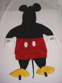 LN  Infant Boys Mickey Mouse Plush Halloween Costume 6 12 M