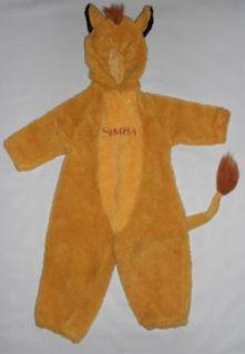 Simba Lion King  Halloween Costume 2 3 One Piece Cub