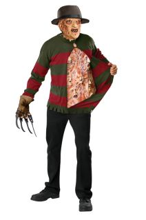 Nightmare on Elm Street Freddy Krueger Chest of Soul Sweater Adult Mens Costume