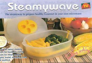 Microwave Steamer Cooker Steamywave as Seen on TV