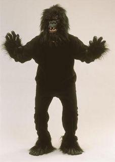 Adult Gorilla Monkey Ape Fancy Dress Costume Outfit One Size