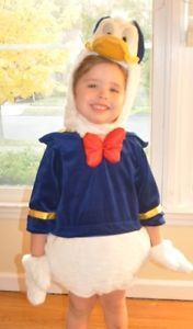 Donald Duck Toddler Complete Halloween Costume Size 24 36 Months