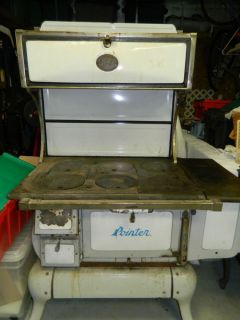 Antique Wood Cooking Stove Pointer