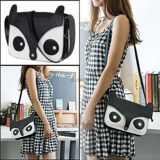 PU Leather Naughty Cartoon Fox Ladies Shoulder Cross Body Bag Messenger Handbag