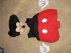 Mickey Mouse Plush Costume Size 3 6 Months Baby Toddler