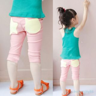 New Baby Girls Stars Pattern Pants Leggings Shorts Trousers Kids Costume 1 6Y