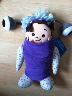 """Disney Monsters Inc 10"""" Baby Boo in Monster Costume Plush Doll w Tag"""