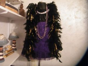 3T 5T Flapper Dress Accessories Baby Toddler Girls Pageant OOC Costume Glitz Fas