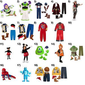 Halloween Costumes Infant Toddler Youth Boy Sizes