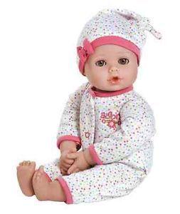 "Adora Dolls Adora Dolls Playtime Baby Light Skin Brown Eyes Dot 13"" Vinyl"