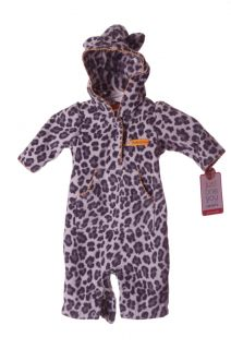 Baby NB Infant Cheetah Cat Halloween Costume Kitten Outfit Body Suit Newborn New