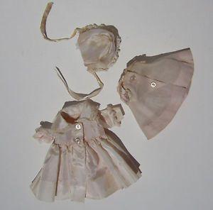 Vintage 1960s Madame Alexander Littlest Kitten Doll Clothes Coat Blouse Hat Tag