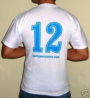 Sporting Cristal T Shirt Peru Soccer Futbol s M L XL