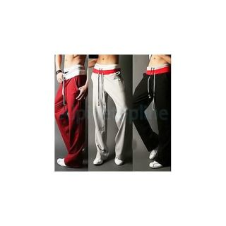 Men Unisex Gym Yoga Athletic Slim Fit sweat Sport Pants
