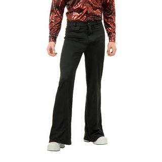 Black Disco 70's Adult Halloween Costume Pants