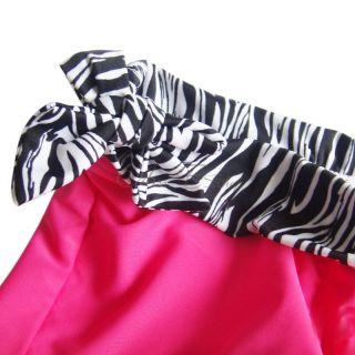 Zebra Girls Two Piece Tankini Swimsuit Swimwear Bathing Suit Swim Costume Sz 14