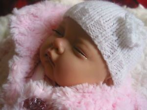 Sleeping Sophia Baby Girl Reborn Doll Sculpt by Nines D'Onil New Winter Clothes