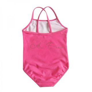 Girls Kids Peppa Pig Floral Swimsuit Swimwear Bathing Suit One Piece Swim Sz 5 6