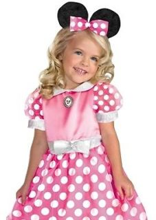 Kids New Minnie Mouse Disney Toddler Halloween Costume