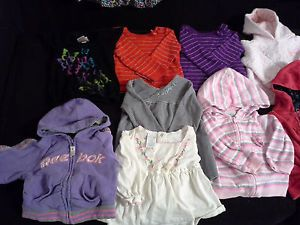 27 Piece Infant Baby Girl Clothes Big Lot Size 12 18 Months Winter Spring Fall