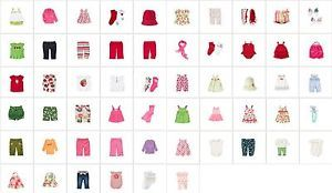 Brand Gymboree Spring Summer Baby Toddler Clothing Collection