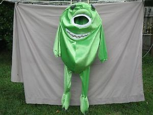 Disney's Monster's Inc Mike Wazowski Child's Halloween Costume Size 4 6T